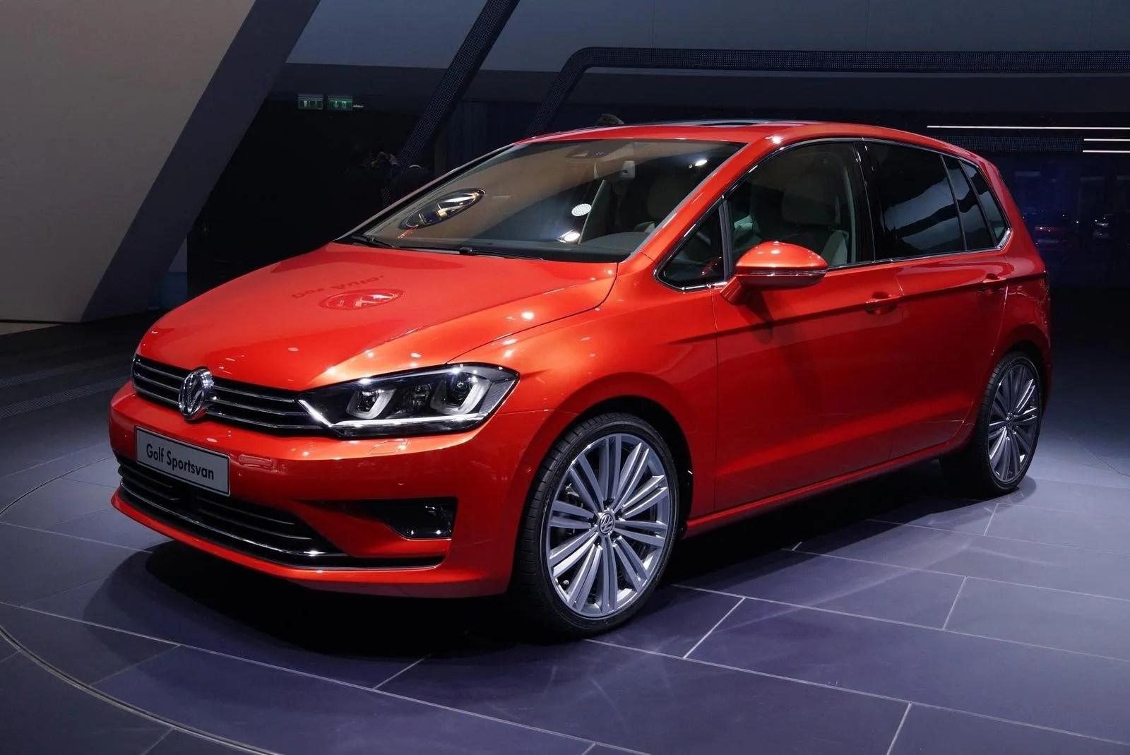 2013 Volkswagen Golf Sportsvan Concept Top Speed