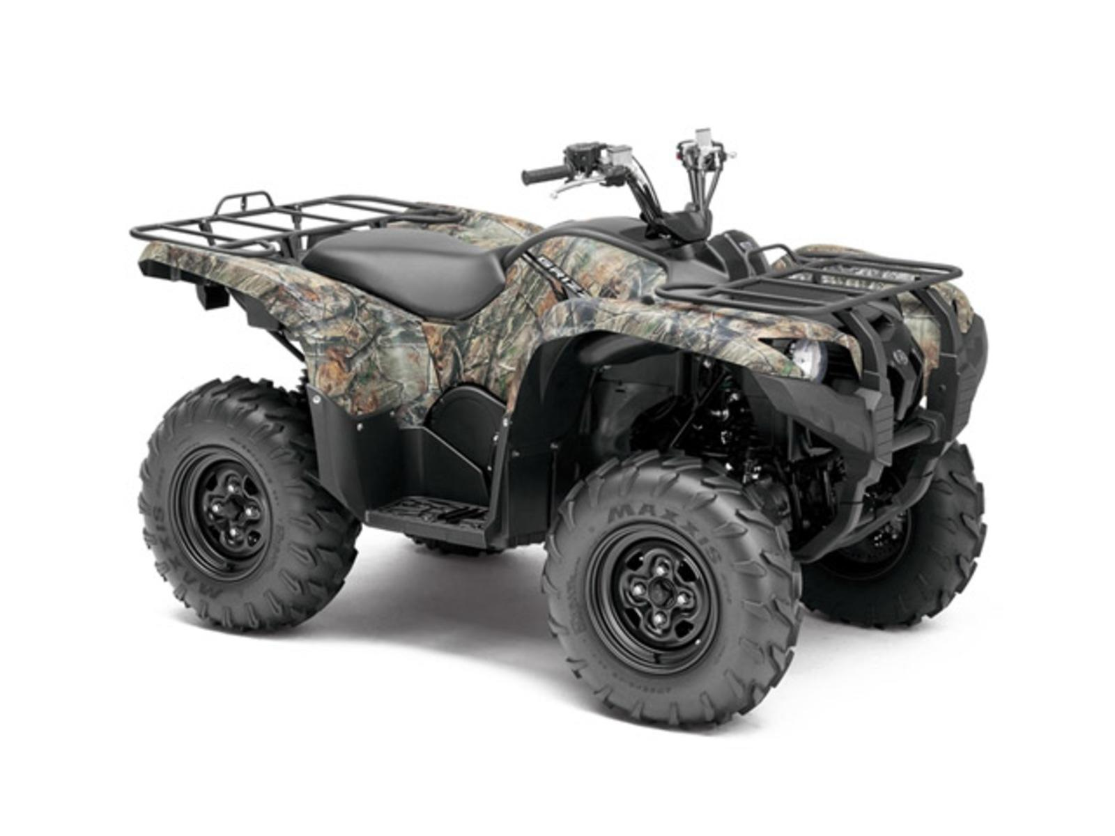 Yamaha Grizzly 550 Fi Review