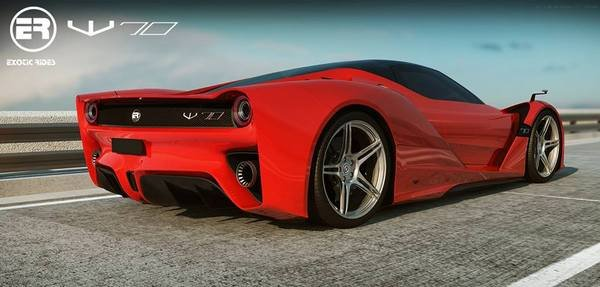 2016 Exotic Rides W70 Car Review Top Speed