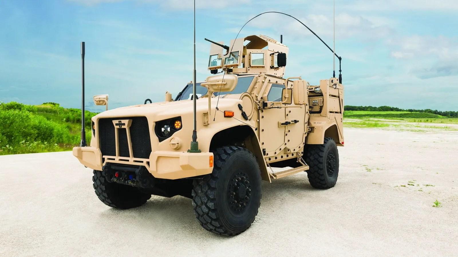 2017 Oshkosh Joint Light Tactical Vehicle Top Speed