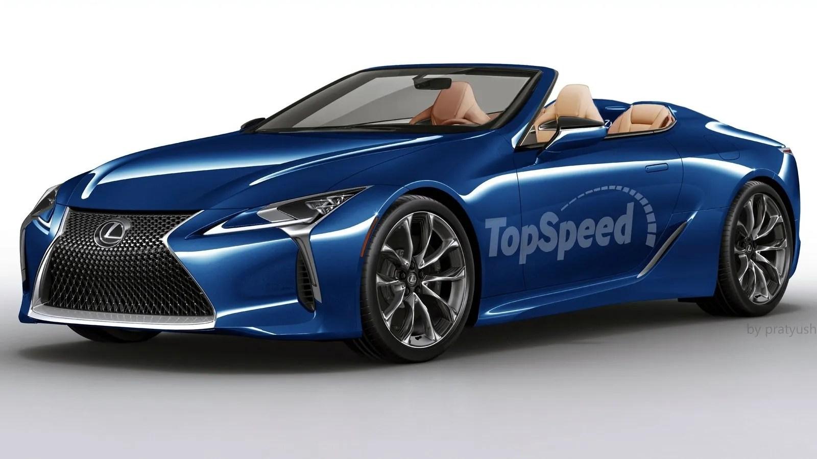 2018 Lexus Lc Convertible Top Speed