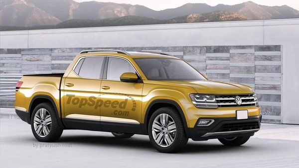 2019 Volkswagen Atlas Pickup Review Top Speed