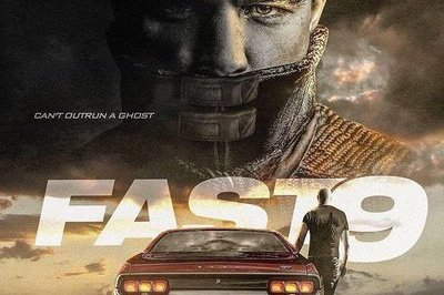 fan made poster of fast and furious 9