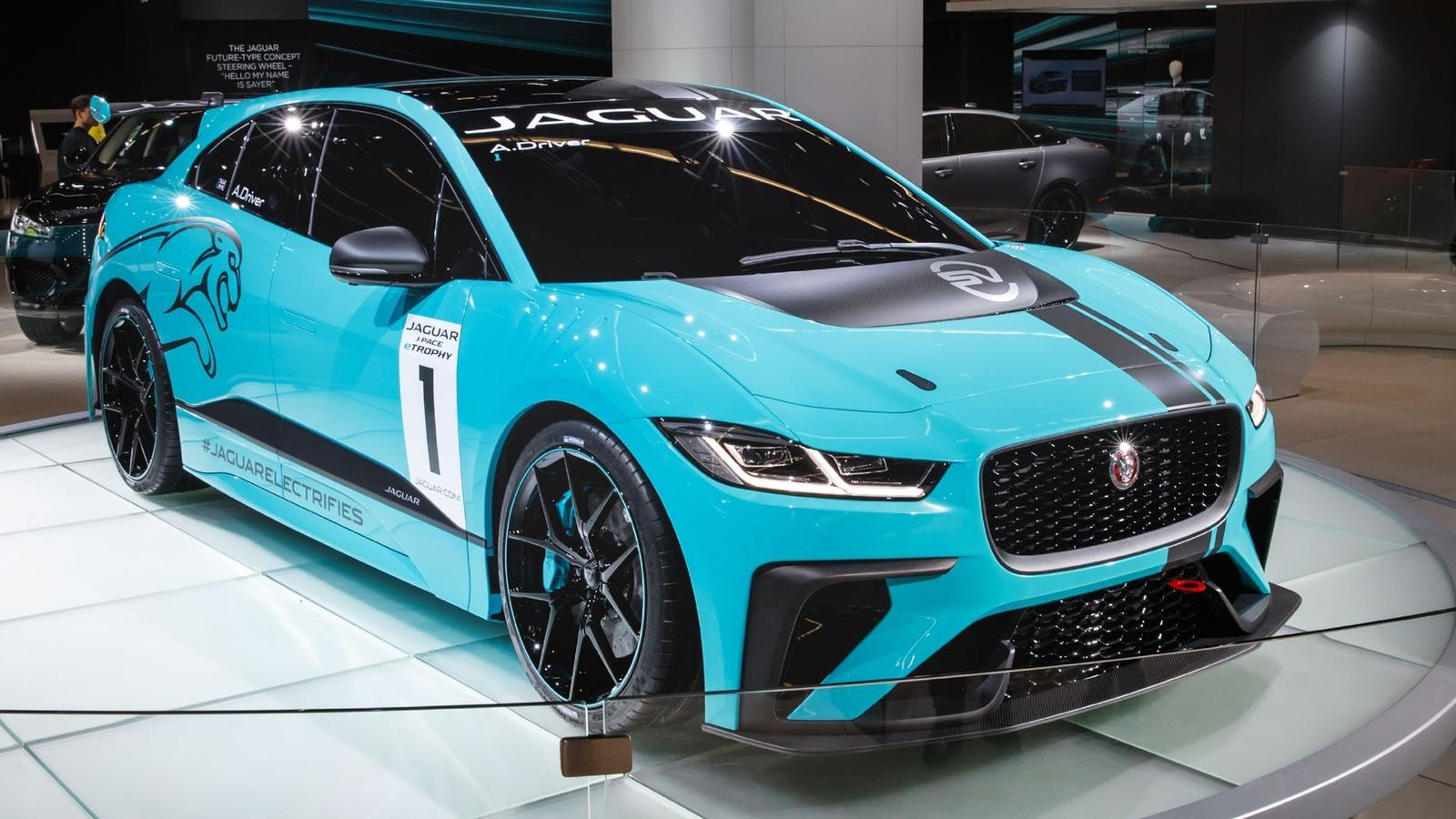 2017 Jaguar I Pace Etrophy Top Speed