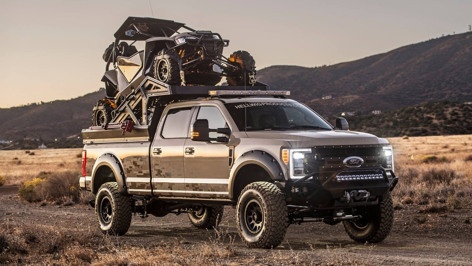 Ford F 350 The Operator By Hellwig