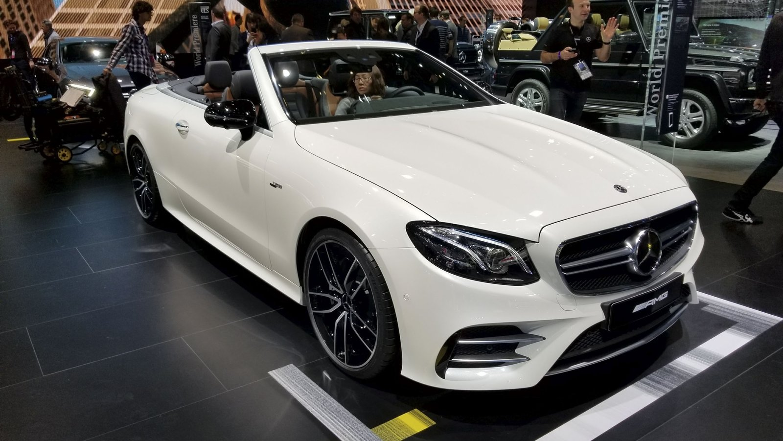 Mercedes E Class Cabriolet Gets The Amg E53 Treatment In