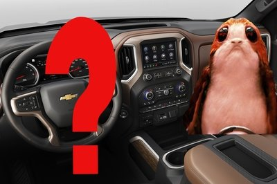 Does The 2019 Silverado's Dash Resemble A Porg? - image 758877