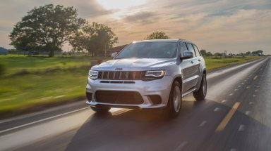 2018 Jeep Grand Cherokee Trackhawk By Hennessey @ Top Speed