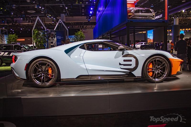 The First 2019 Ford GT Heritage Edition Beat The 2020 Ford