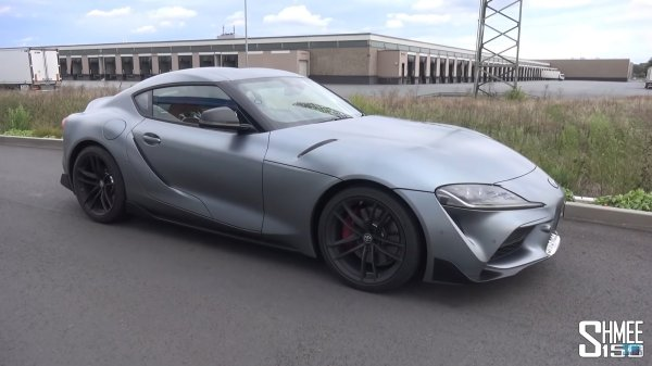 How Fast Can Shmee Go On The Autobahn In His 2020 Toyota Supra? @ Top Speed