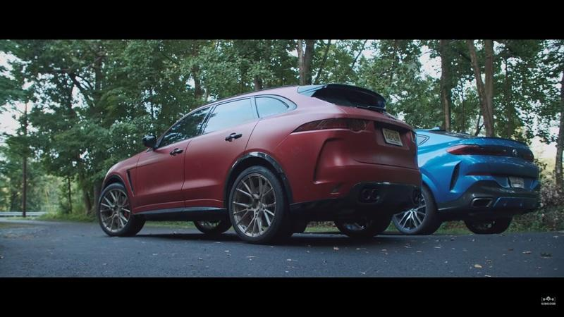 Is a 2020 BMW X6 M50i Faster Than Jaguar's Supercharged F-Pace SVR? - image 927156