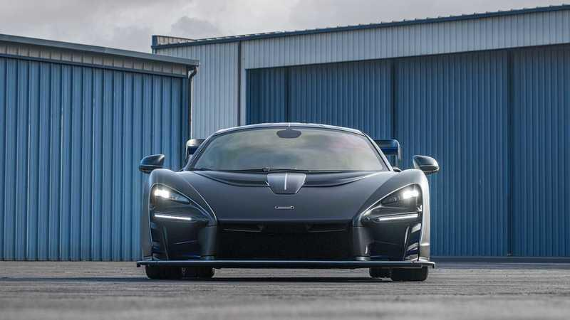 This McLaren Senna With $360K In Options Is Heading to Auction Exterior - image 961965