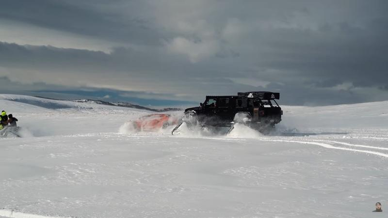 This Lamborghini Aventador on Snow Tracks Is Definite Evidence That Someone Is Too Bored With Too Much Money - image 970551