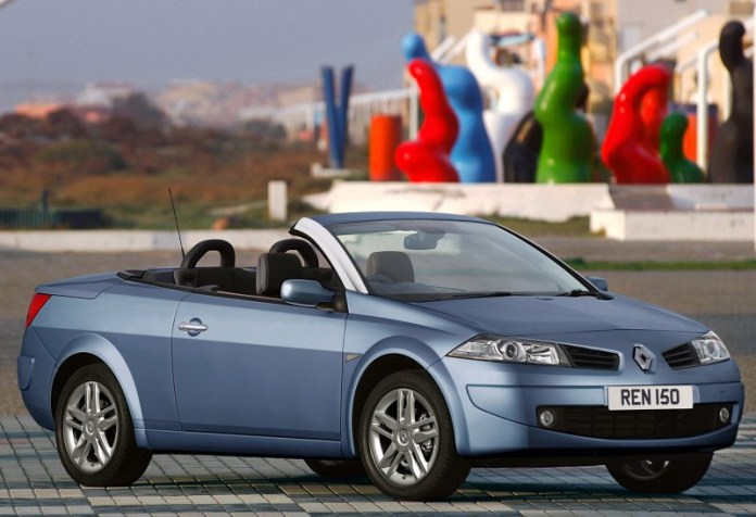 2007 Renault Megane Coupe Cabriolet Dynamique S Special Edition Top Speed