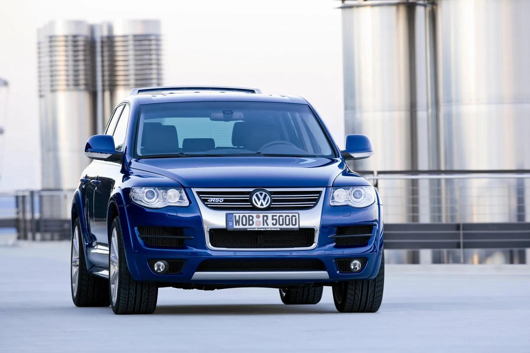 2008 Volkswagen Touareg R50 Top Speed