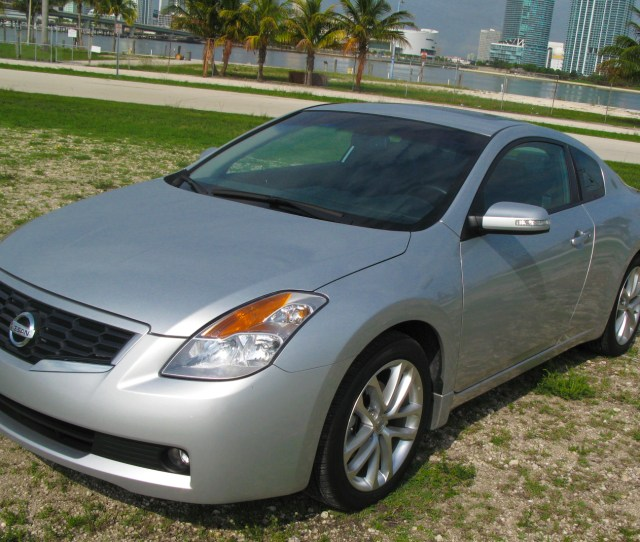 2009 Nissan Altima Coupe 3 5 Se Top Speed