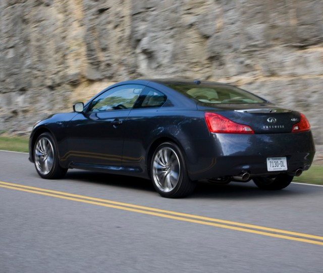 Infiniti G Coupe Top Speed