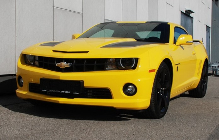 2012 Chevrolet Camaro Transformers Edition By O Ct Tuning Top Speed