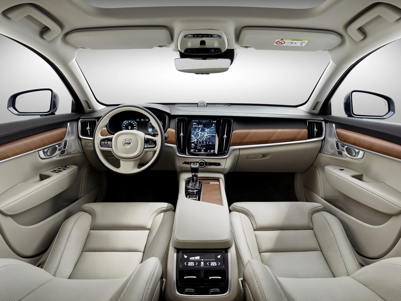 Suv Xc90 Seating Volvo 2016
