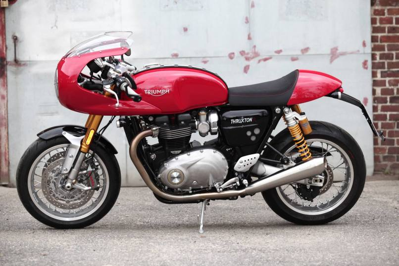 Ing A Thruxton R You Can Now Get 2500 Worth Cafe Racer Kit For Free Top Sd