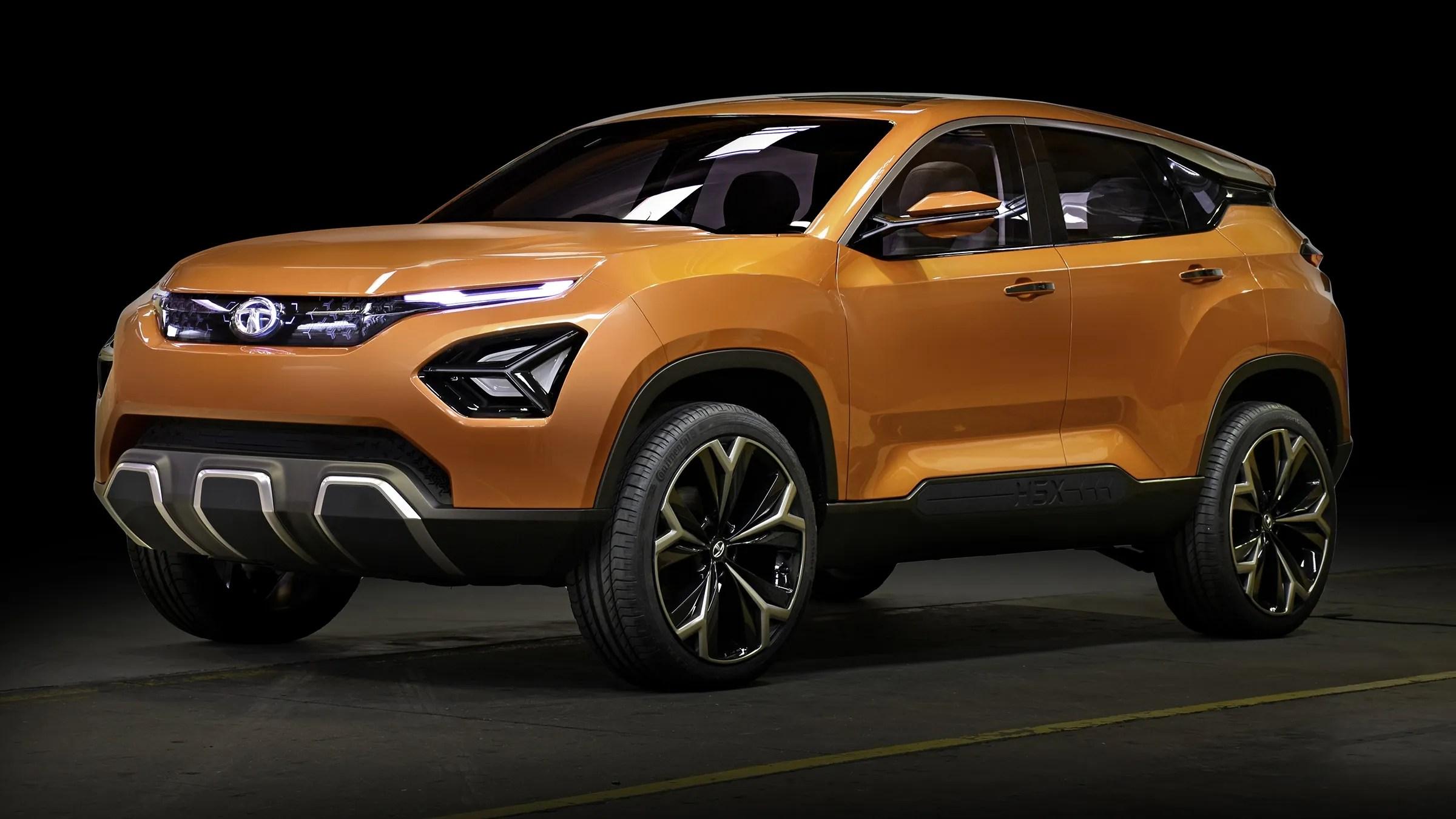 Tata H5x Concept Previews Land Rover Based Suv In Geneva