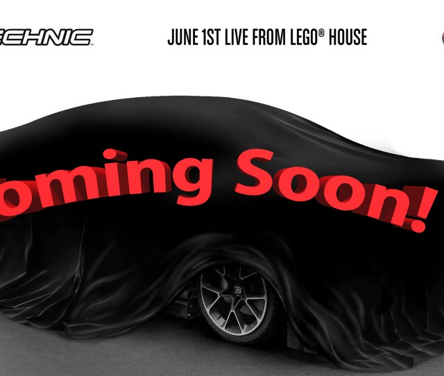 The Lego Technic Bugatti Chiron Will Debut At A Special Event On June St Top Speed