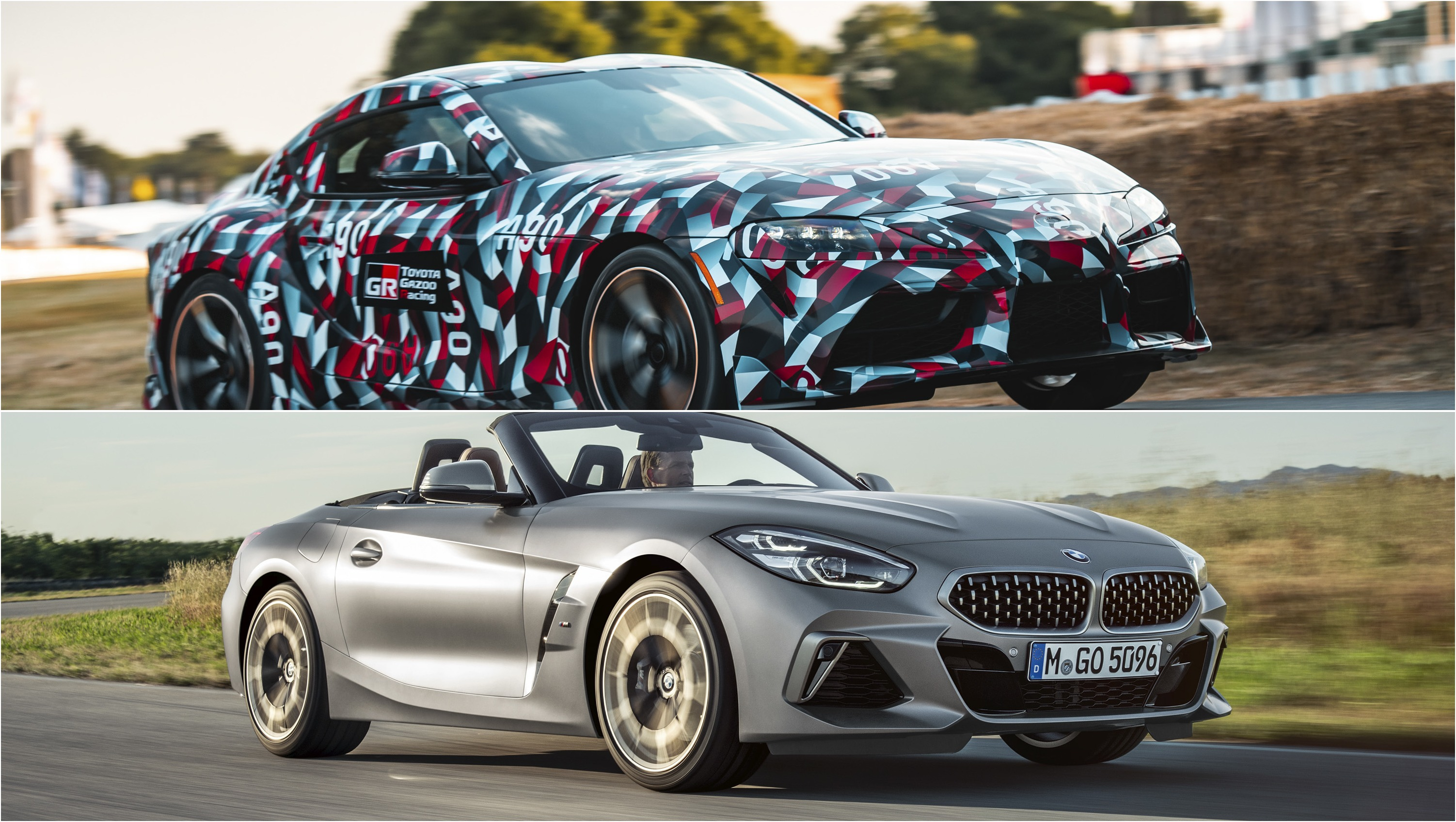 Visual Comparison The 2020 Toyota Supra And The Bmw Z4 Top Speed