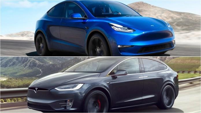 2020 Tesla Model Y Vs 2019 Tesla Model X Pictures Photos Wallpapers Top Speed