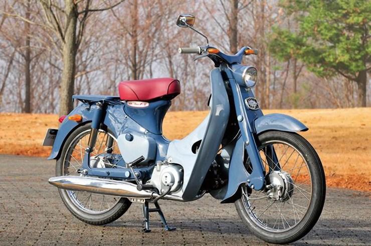 1958 - 1967 Honda Super Cub