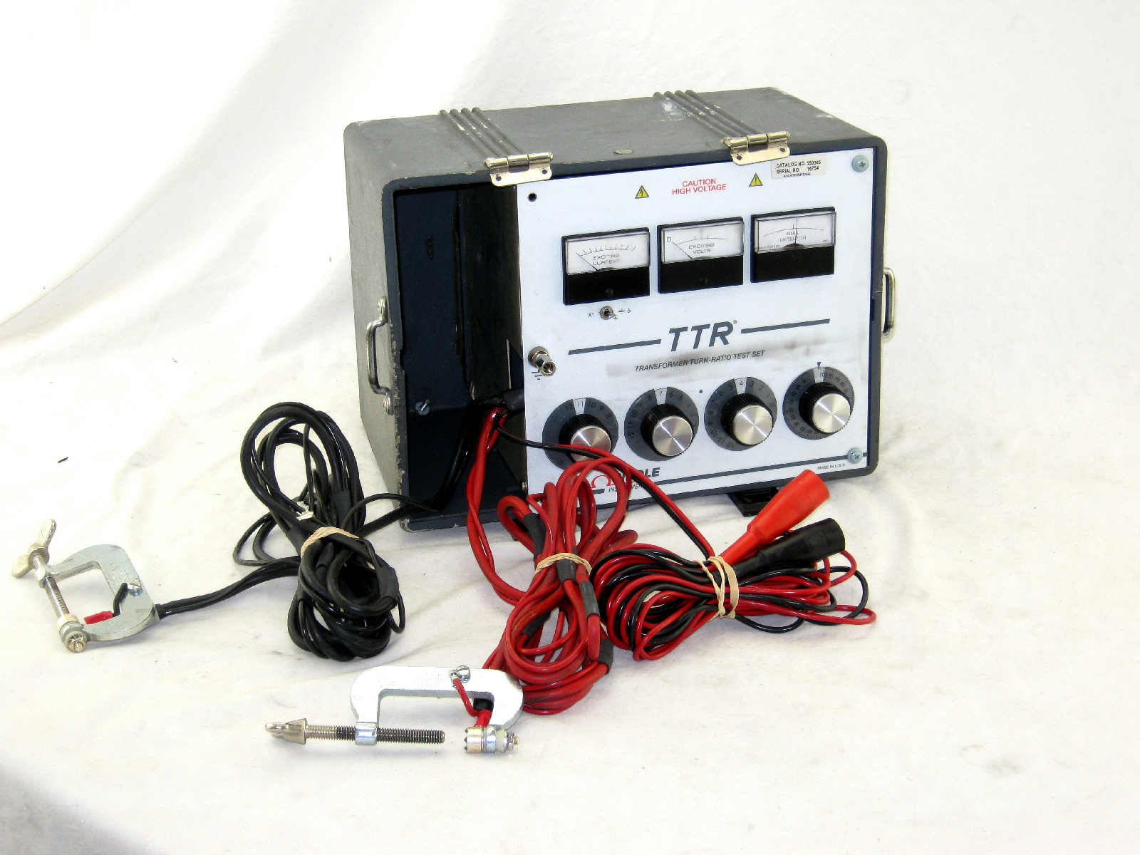 Biddle Instruments Ttr Transformer Turn Ratio Test Set