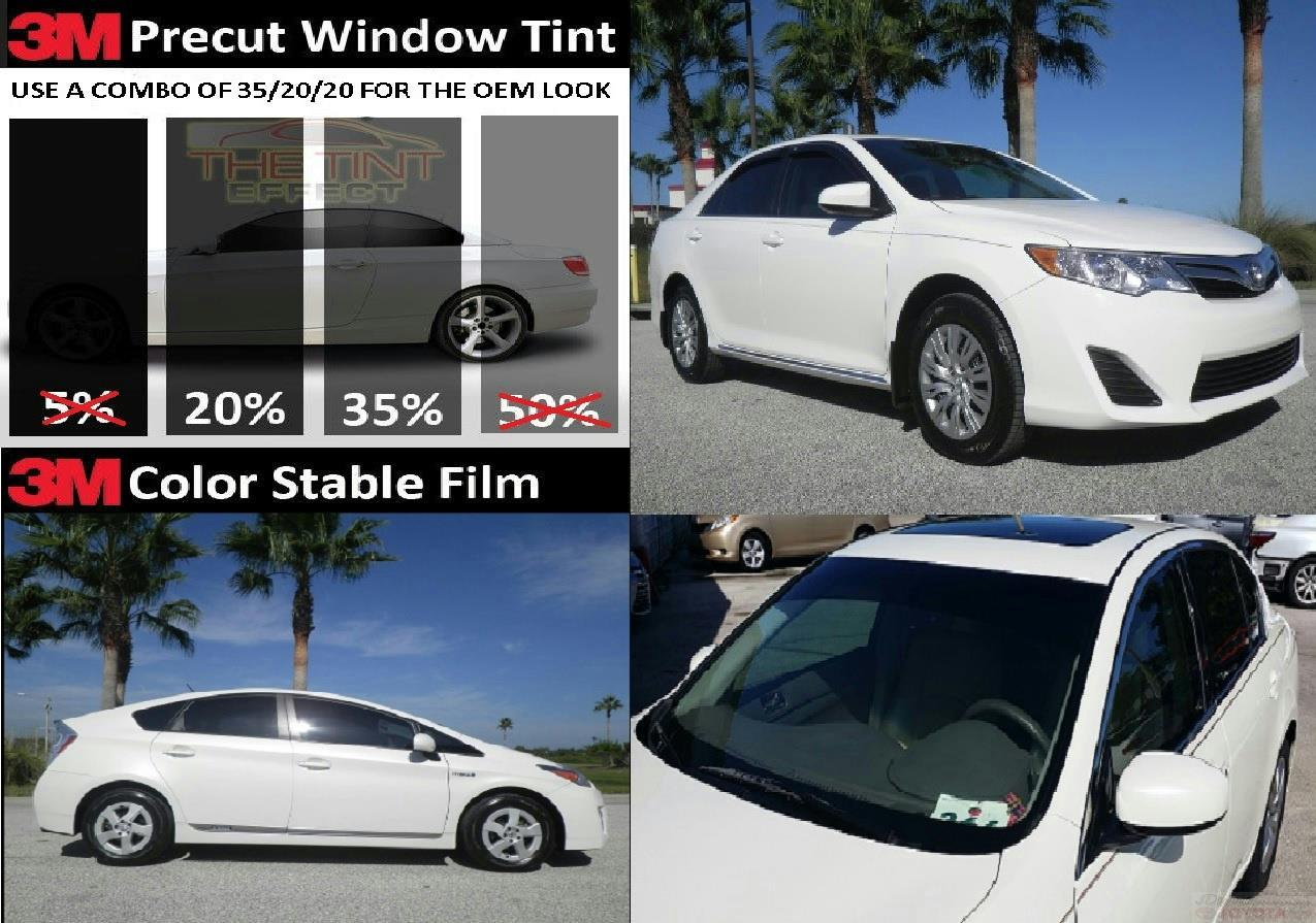 Front Doors Precut Window Tint For Toyota Camry 4 Door 2013 2014