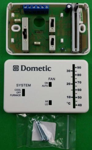 Dometic Duo Therm 3106995032 Heat & Cool Wall Thermostat