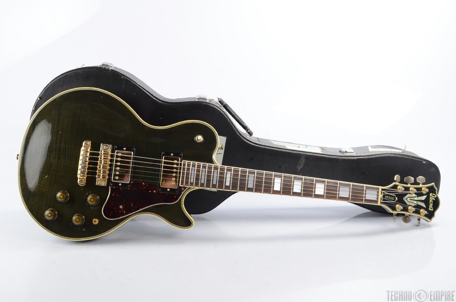 Vintage Ibanez Pf300 Performer Electric Guitar W