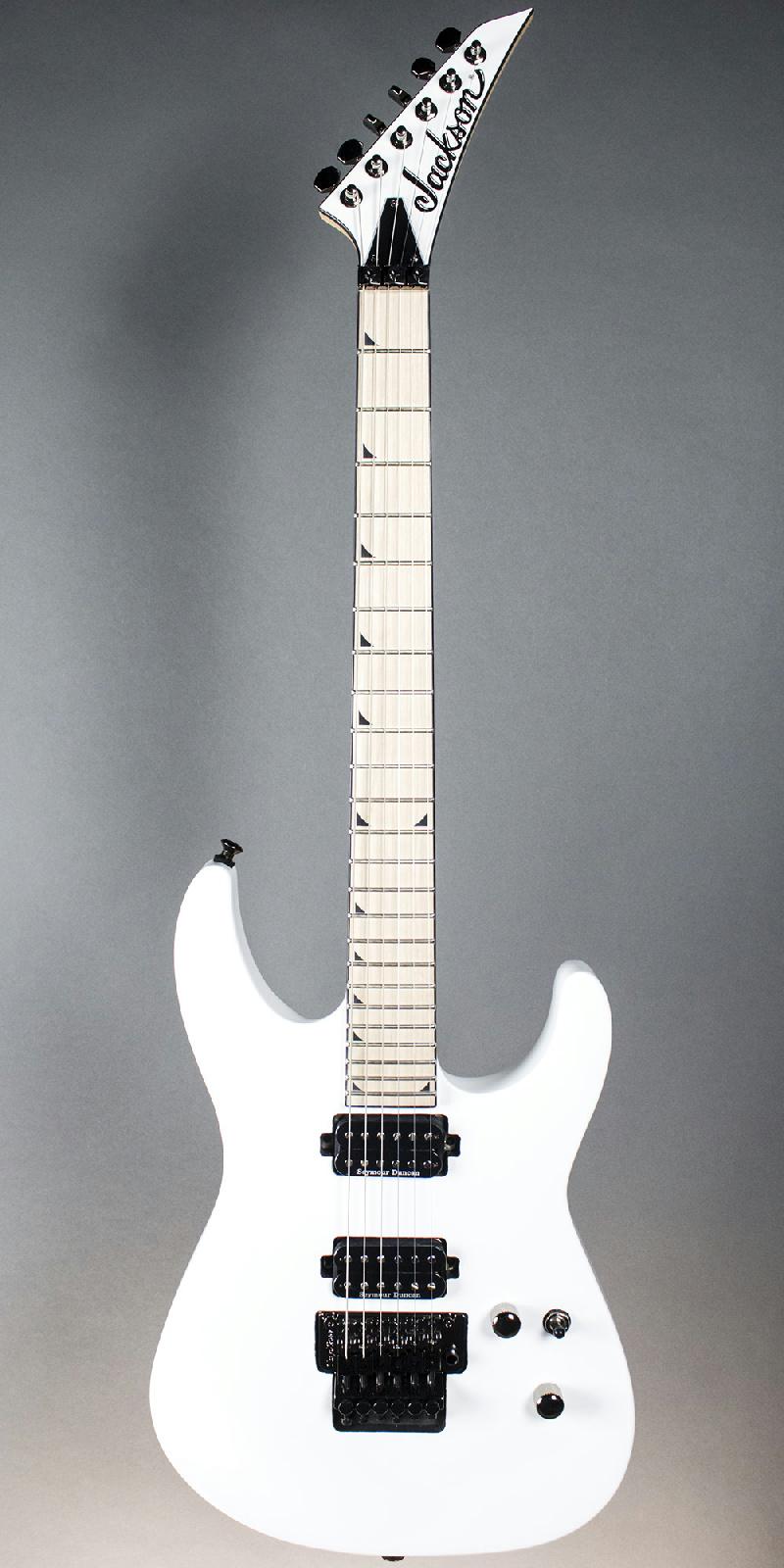 Jackson Pro Series Sl2m Soloist Electric Guitar Snow