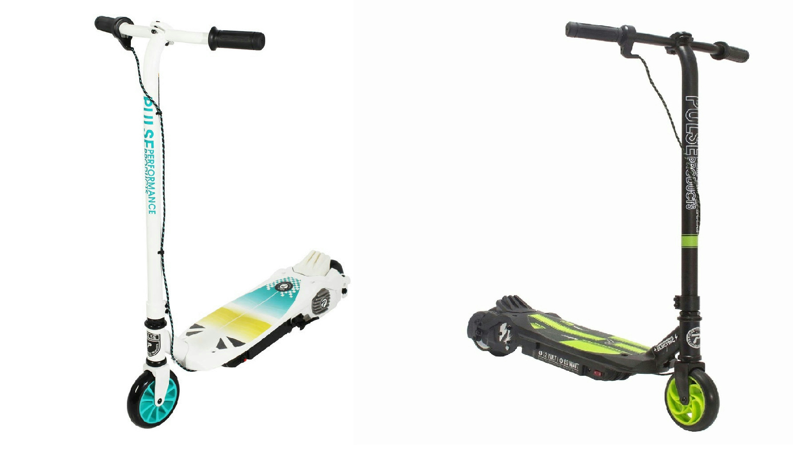 Lot Of 2 Pulse Performance Electric Scooters