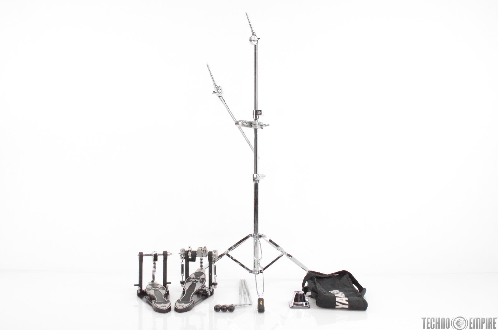 Ddrum Dxdp Pro Double Bass Drum Pedal Sp Cymbal Stand Tom Legs Bundle