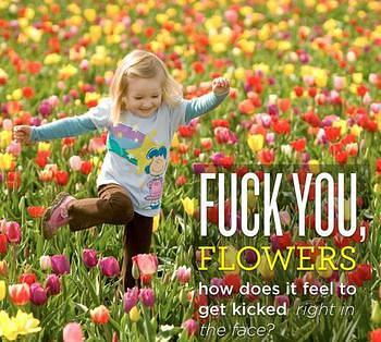 flower kick