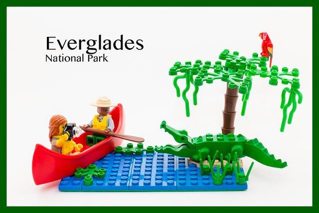 Everglades NP LEGO