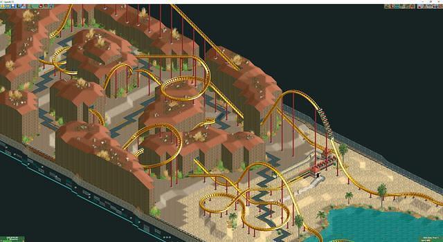 Halo Rollercoaster