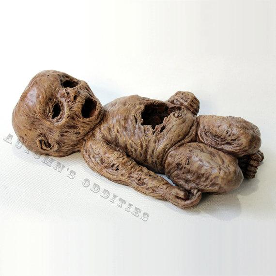 mummified baby