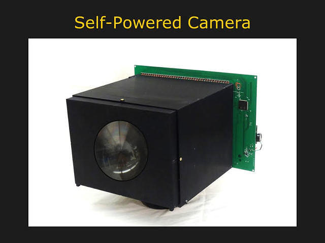 self powered camera