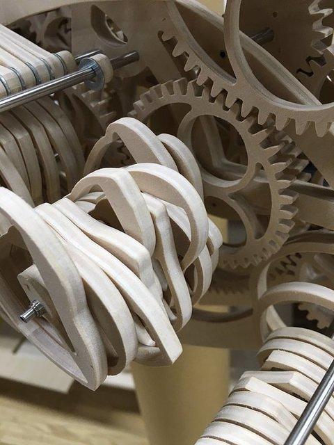 wooden gears