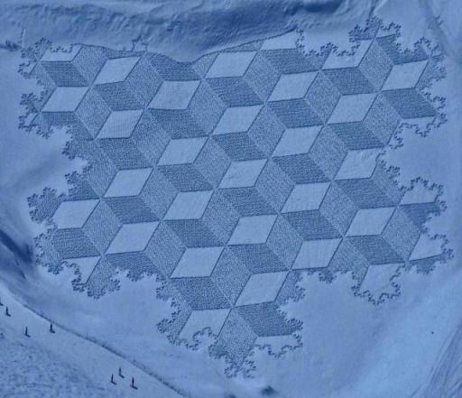 snow cubes