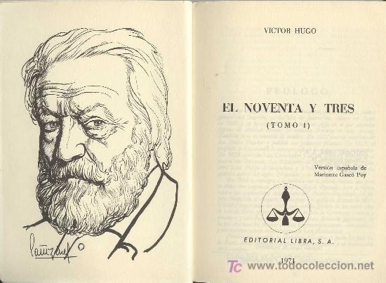 Noventa y tres Victor Hugo