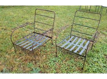 vintage patio furniture salvage sale