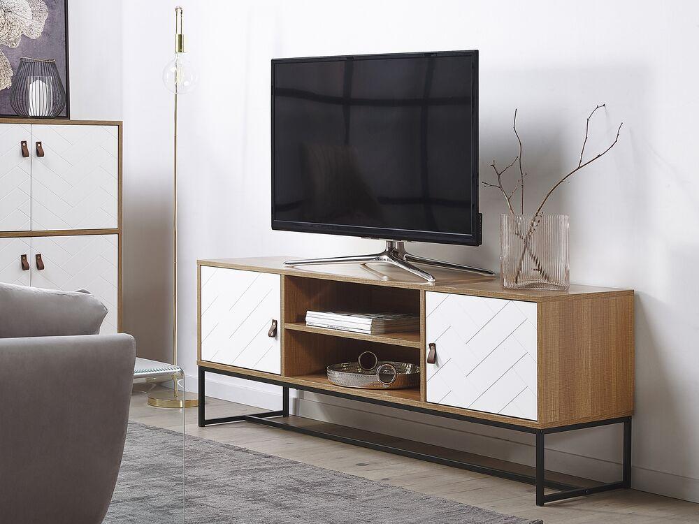 tv mobel nueva heller holzfarbton weiss ch