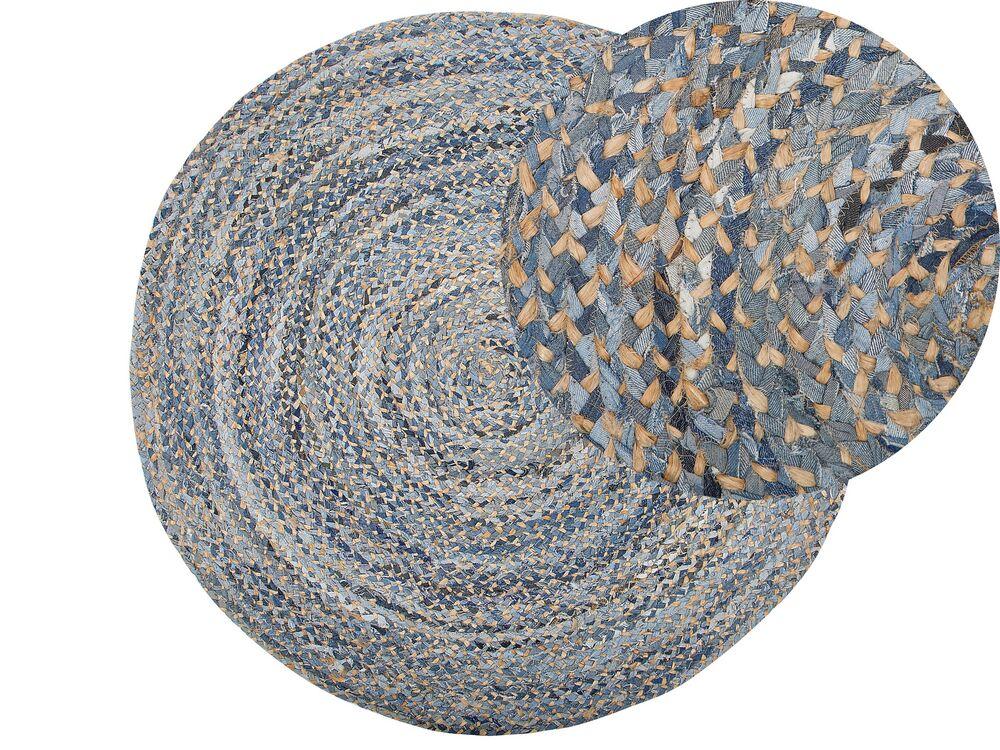 teppich leventler beige blau 140 cm ch