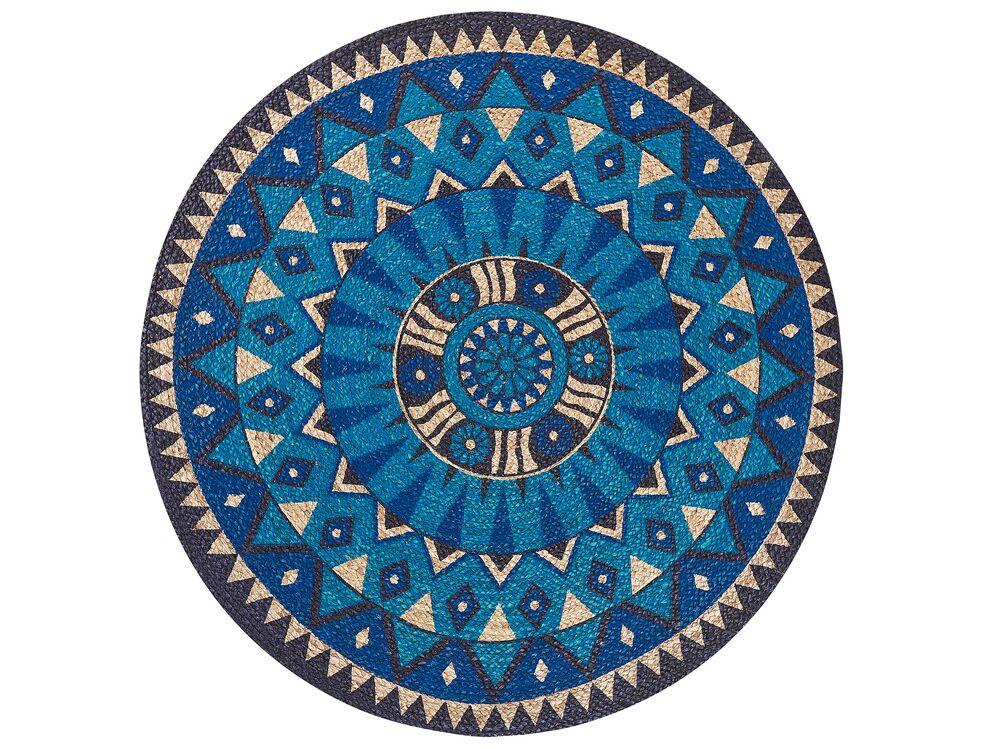 teppich unur blau 140 cm ch