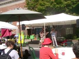 farmers market music