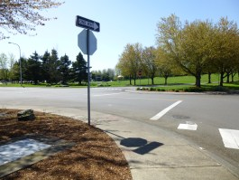 pathways street and sign